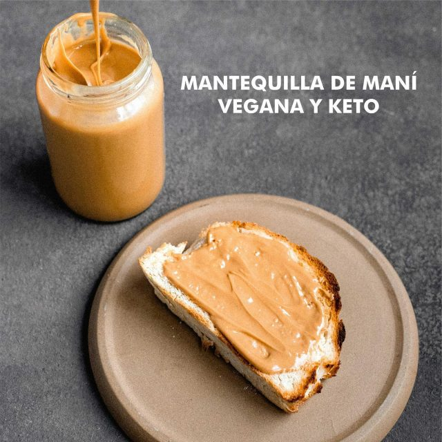 Mantequilla de maní vegana🌱 Les brindamos recetas para que puedan utilizar la proteína de arveja y xilitol🌿 . . #vegan #veganfood #comidasaludable #saludable #nuevosalimentos #conciencia