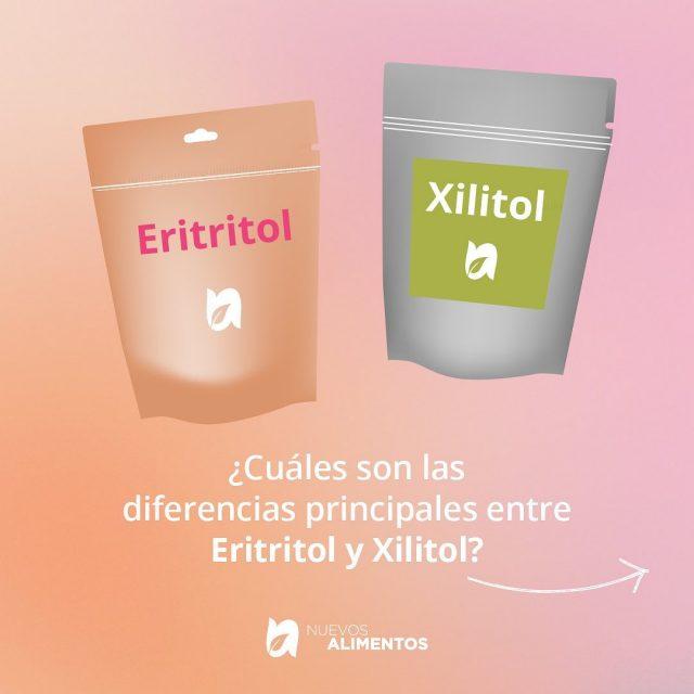 Cuál es la diferencia entre el eritritol y xilitol? 🌱🌱🌱  DATA🥰